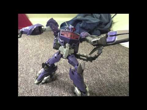 Transformers Prime Beast Hunters Shockwave vs Ultra Magnus Stop Motion