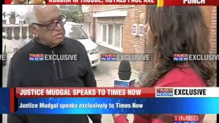 CAB Will Continue My Argument: Justice Mudgal - TIMESNOWONLINE