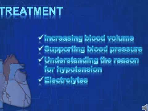 Hypotension Treatment and causes