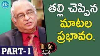 Global Hospitals Director Dr KS Ratnakar Interview - Part #1 || Dil Se With Anjali - IDREAMMOVIES