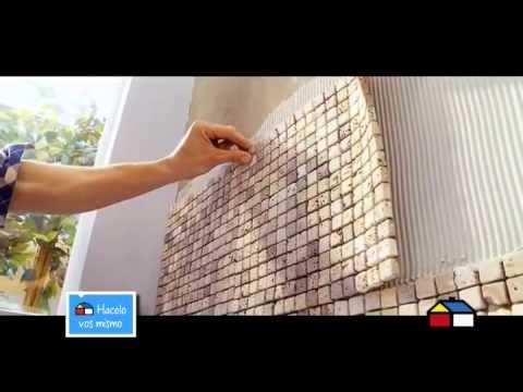 Como colocar mosaicos