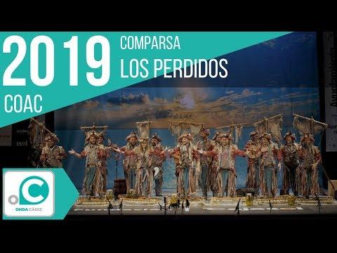 Sesión de Preliminares, la agrupación Los perdidos actúa hoy en la modalidad de Comparsas.