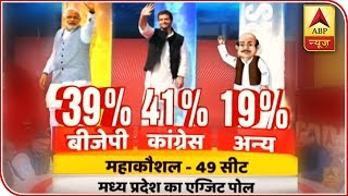 ABP Exit Poll | Congress leading with 26 seats in MP's Mahakoshal Region - ABPNEWSTV