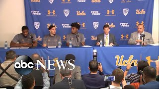 UCLA basketball players apologize for international incident - ABCNEWS
