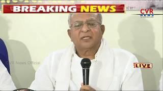 Congress Senior Leader Jaipal Reddy Press Meet | CVR NEWS - CVRNEWSOFFICIAL