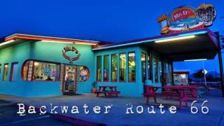 Royalty Free :Backwater Route 66