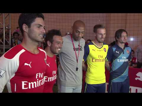 Arsenal: Kickabout at Grand Central Station