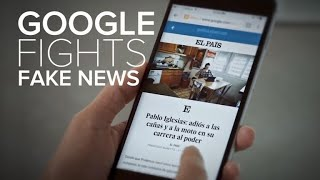 Google's plan to fight its fake-news problem - CNETTV