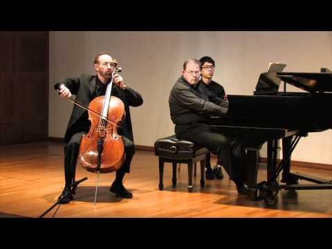 Saint-Saëns Cello Concerto No. 2, Mvts. I and II -- Neal Cary, cello Opus 119