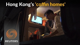 Skyrocketing property prices in Hong Kong spur 'coffin homes' - REUTERSVIDEO