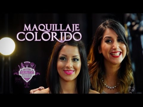 Maquillaje Colorido - Beauty Coach
