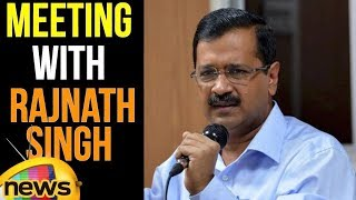 Delhi CM Arvind Kejriwal Media Byte After Meeting Home Minister Sh Rajnath Singh | Mango News - MANGONEWS