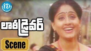 Lorry Driver Movie Scenes - Vijayashanti And Balakrishna Comedy || Sharada || B Gopal - IDREAMMOVIES