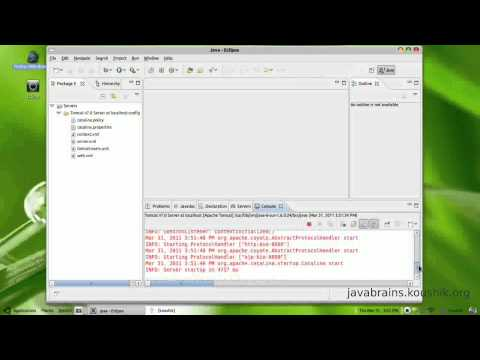 JSPs and Servlets Tutorial 01 - Setting up