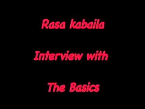 Wally De Backer Interview for his band 'The Basics'. By Ra-Dizzle (Rasa Kabaila).