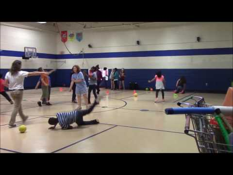 Kicking in Elementary Physical Education (4th Grade)