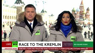 Race to the Kremlin special coverage: Winners, losers & reactions - RUSSIATODAY