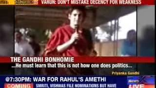 Varun Gandhi's veiled attack on Priyanka Gandhi; says don't see inherent decency as weakness - NEWSXLIVE