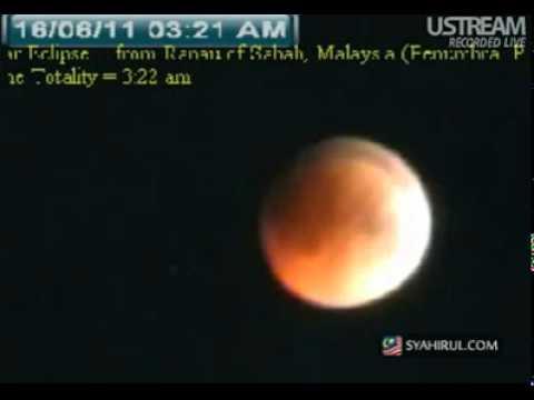 Gerhana Bulan Penuh 1432 H / 2011 M (Live)