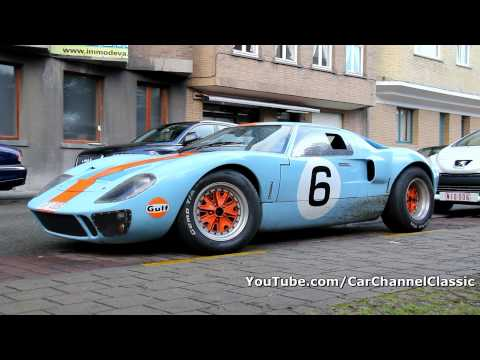 Ford GT40 Gulf edition - 1080p HD