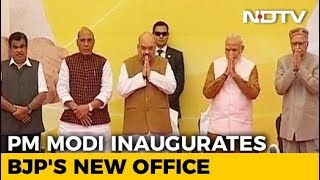 BJP Gets A New Address Today, PM Modi To Inaugurate Multi-Storey Office - NDTV