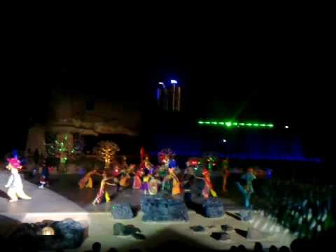 ANCOL - OCEAN ECOPARK - TIMUN EMAS - FANTASTIQUE MAGICAL FOUNTAIN SHOW