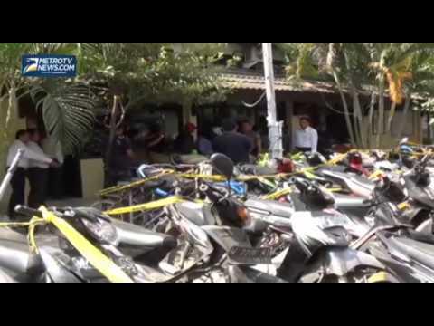 Gerebek Judi Sabung Ayam, Polisi Amankan 61 Sepeda Motor