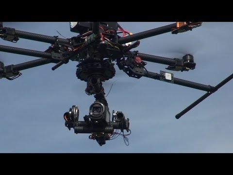 3 axis Gimbal 'FC123-002' - part 5 (Gimbal test flight)