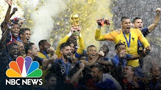 Paris Erupts In Celebration After World Cup Win | NBC News - NBCNEWS
