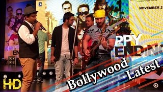 Saif Ali Khan Performs On Paaji Tussi Such Song Happy Ending - HUNGAMA