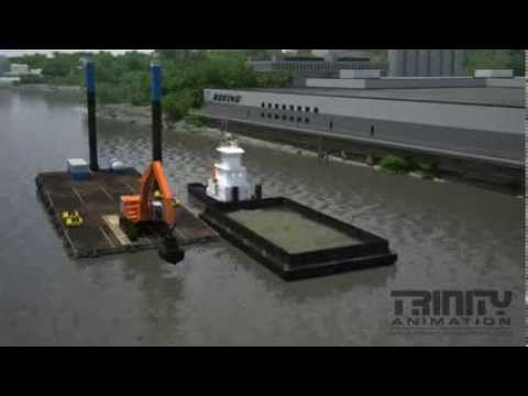 Dredging Process - Courtesy: Trinity Animation