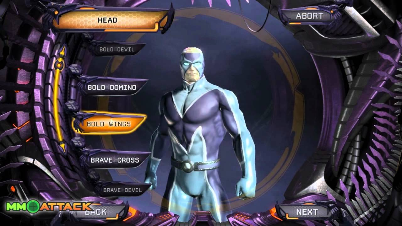 DCUO Amazing Character Creation