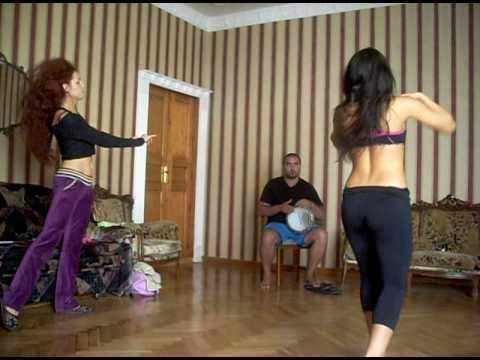 Popova Irina, Ossama Sakhin workshop bellydance