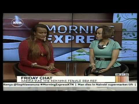 Sabina Anyango talks about her experience at Big Brother Africa's auditions