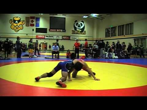 2014 Golden Bear Invitational: 57 kg Shervin Sabet vs. Darthe Capellan