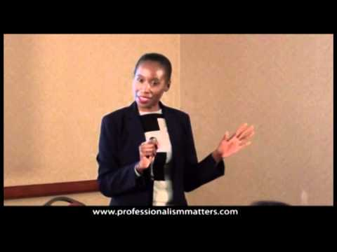 Professionalism Training - Email Etiquette (Corporate Trainer Dana Brownlee)