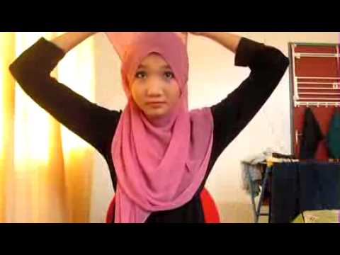 Tutorial Hijab Paris New Style pART 1