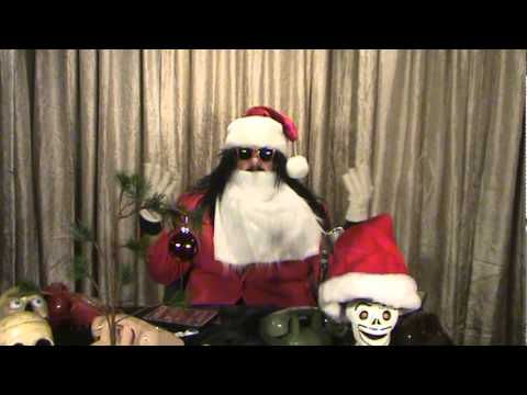 Dr Ivan Cryptosis as Crypta Claus for Incest Death Squad