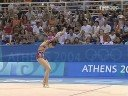 Olympic Games Athens 2004 - Anna Bessonova UKR Ball final