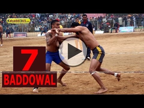 Baddowal (Ludhiana) Kabaddi Tournament 25 Jan 2015 Part 7 by Kabaddi365.com