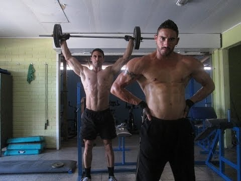 Rutina para la hipertrofia muscular Sesión 5
