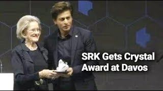 At World Economic Forum, A Special Honour For Shah Rukh Khan - NDTV