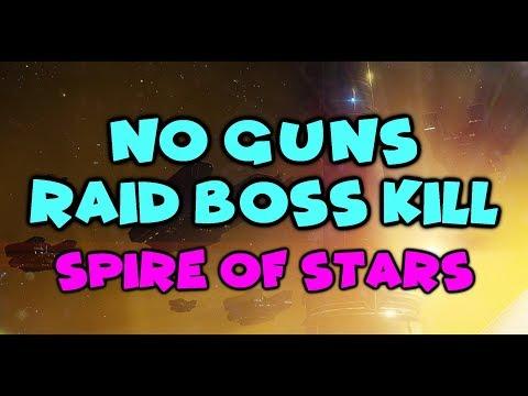 NO GUNS Raid Lair Boss Kill