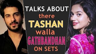 Shruti Sharma and Abrar Qazi talks about their anokha Gathbandhan | Exclusive | Tellychakkar - TELLYCHAKKAR