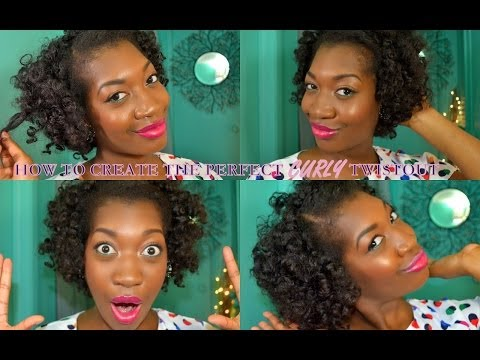 HOW TO GET THE PERFECT CURLY TWIST OUT (ON NATURAL 4B/4C HAIR TYPE)---INSPIRED BY DONEDO05