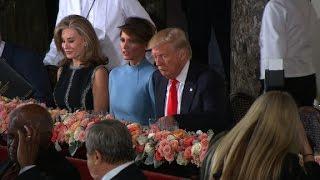 Trump heads to Senate luncheon - CNN