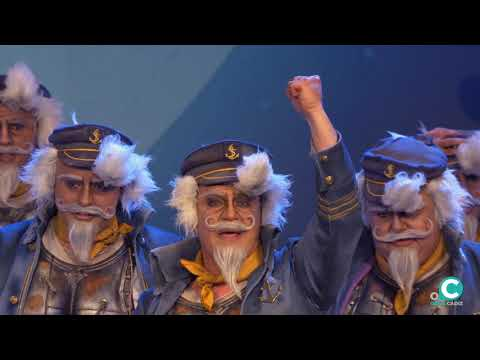 La agrupación El viejo capitán llega al COAC 2020 en la modalidad de Comparsas. En años anteriores (2019) concursaron en el Teatro Falla como Un largo viaje, consiguiendo una clasificación en el concurso de Preliminares.