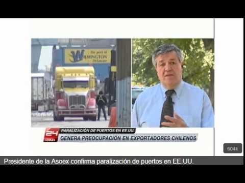 Presidente de ASOEX se refiere a conflicto en los puertos de la costa oeste de EEUU