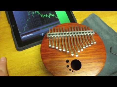 Tuning a Colorado Soundscapes Kalimba