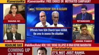 Political parties start blame game over #ConversionWar - NEWSXLIVE